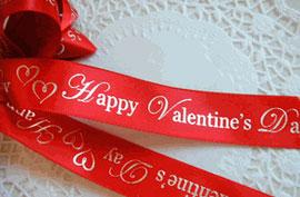 Listones Impresos de San Valentín